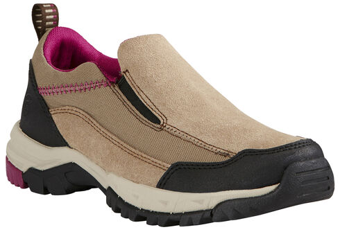 Ariat Women's Skyline Slip-On Shoes, Tan, hi-res