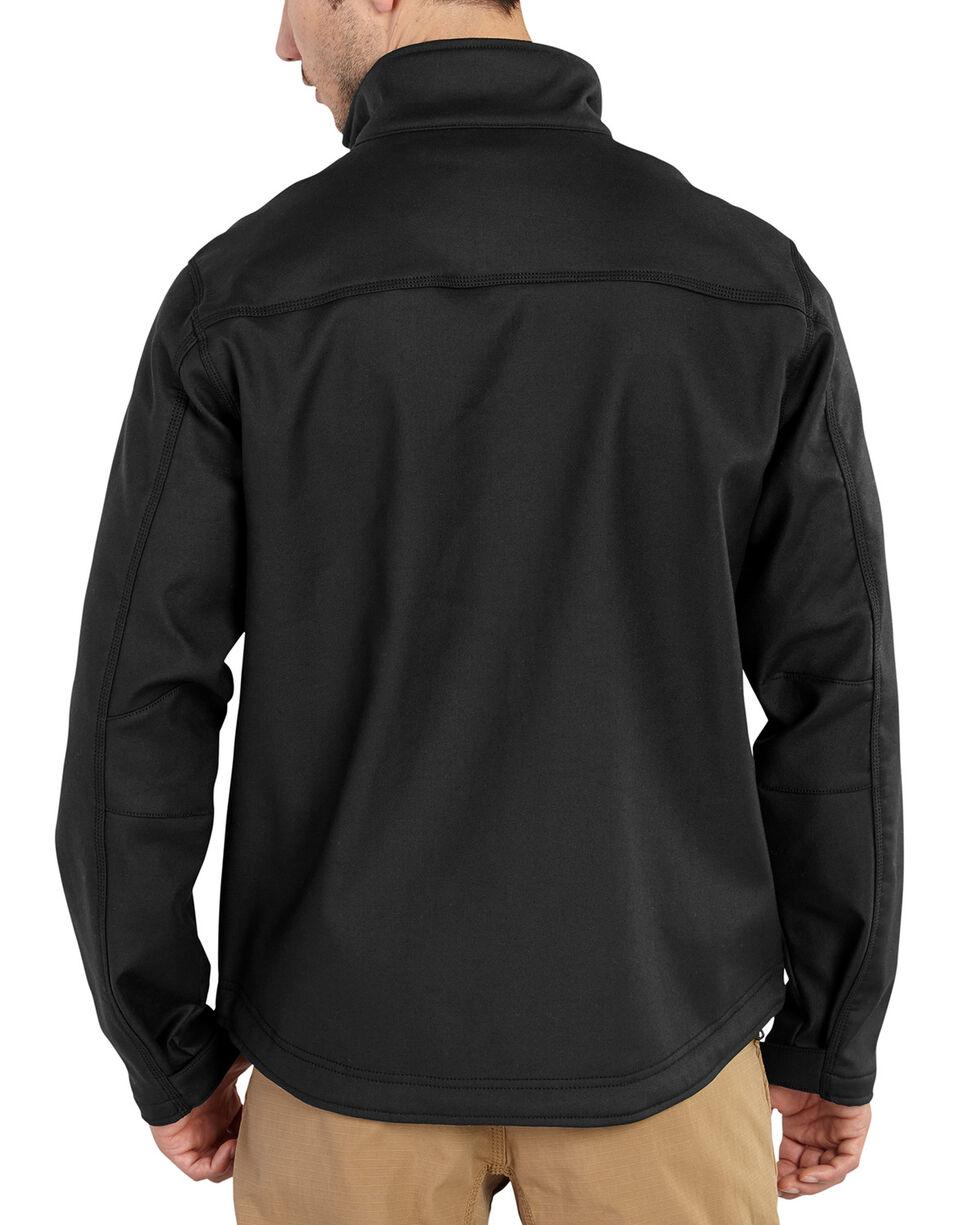 Carhartt Men's Pineville Softshell Jacket, Black, hi-res