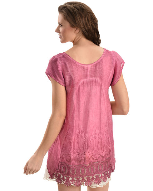 Black Swan Women's Pink Long Island Top, Pink, hi-res