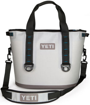 YETI Hopper 30 Soft Side Cooler, Grey, hi-res