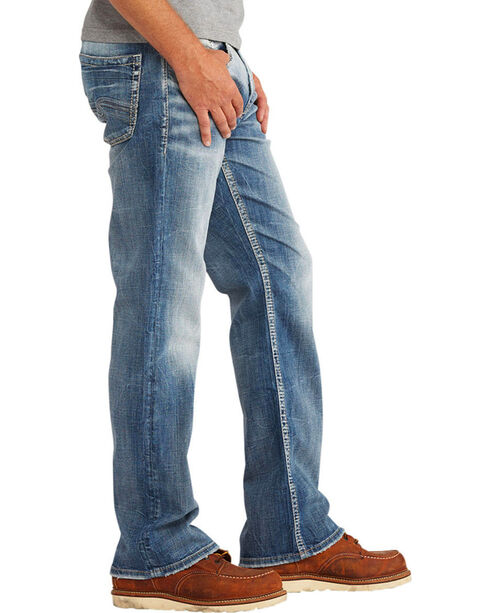 Silver Men's Craig Easy Fit Jeans - Boot Cut , Indigo, hi-res