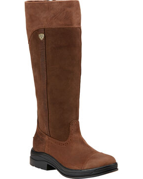 Ariat Women's Ennerdale H2O Tall Boots , Dark Brown, hi-res