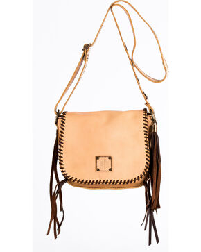STS Ranchwear Selah's Buckskin Saddle Bag , Tan, hi-res