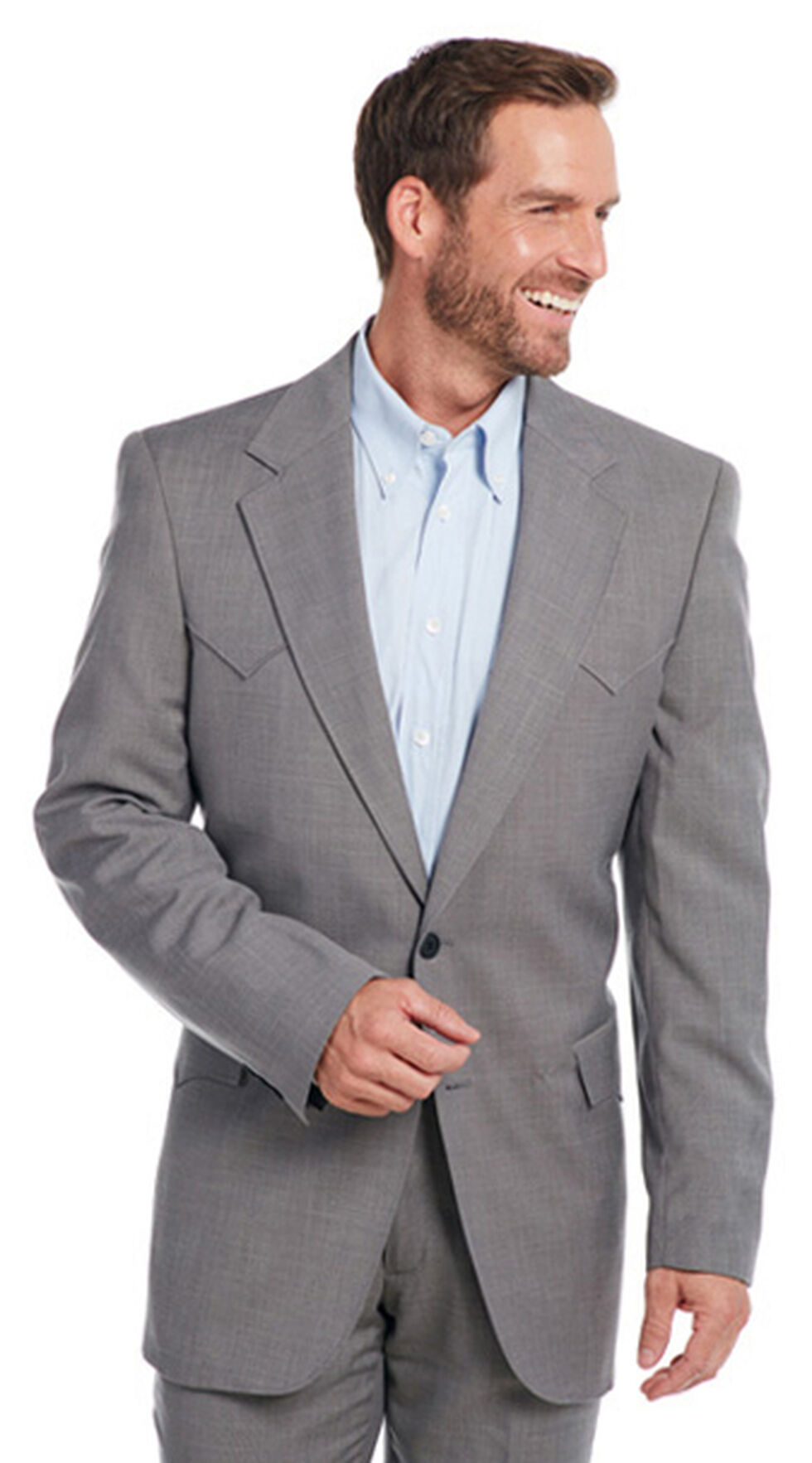 Circle S Men's Steel Grey Lubbock Sport Coat - Big & Tall , Steel, hi-res