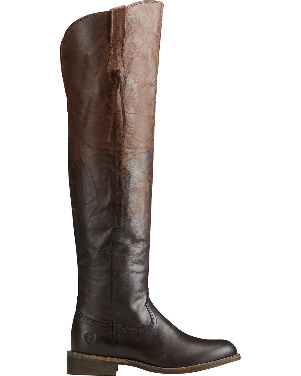 Ariat Women's Chocolate Farrah Sassy Boots - Round Toe , Chocolate, hi-res
