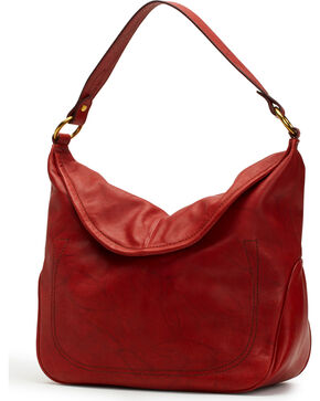 Frye Women's Campus Rivet Hobo, Brown, hi-res