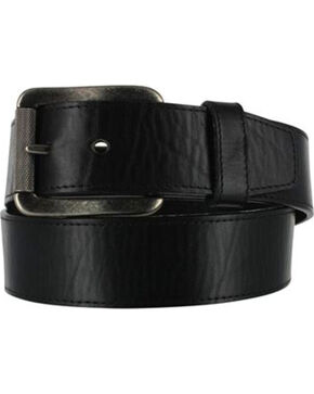 Justin Bent Rail Men's Bomber Western Belt, Black, hi-res