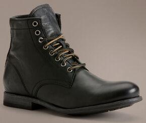 Frye Tyler Lace-Up Boots, Black, hi-res