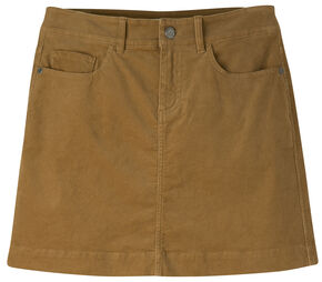 Mountain Khakis Women's Canyon Cord Slim Fit Skirt, Brown, hi-res