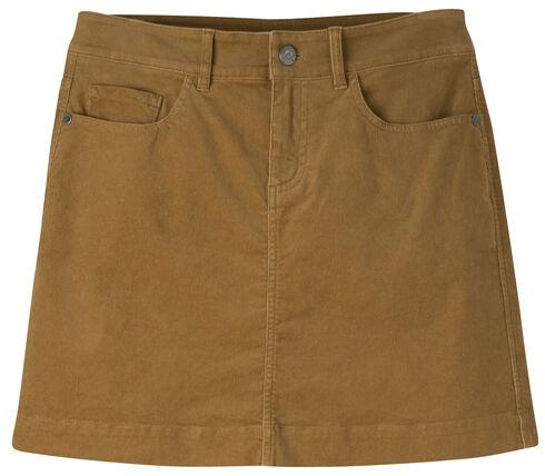 Mountain Khakis Women's Canyon Cord Slim Fit Skirt, Brown, hi-res