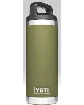Yeti Olive Green 18 oz. Bottle Rambler , Olive, hi-res