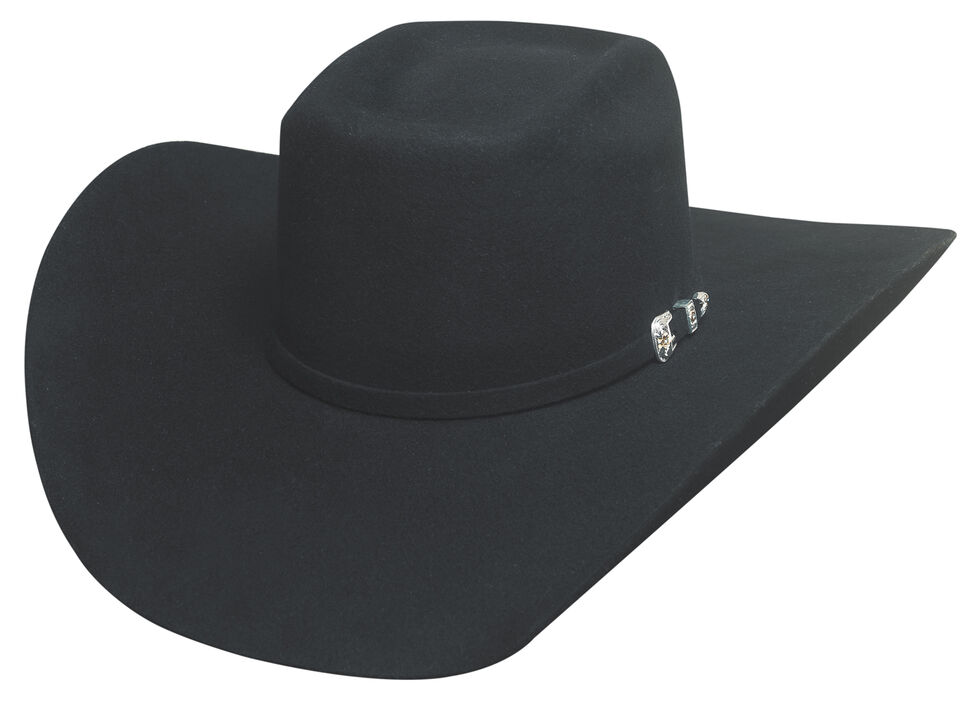 Bullhide Double Kicker 8X Hat, Black, hi-res