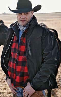 STS Ranchwear Men's Young Gun Black Jacket - Big & Tall - 4XL, , hi-res