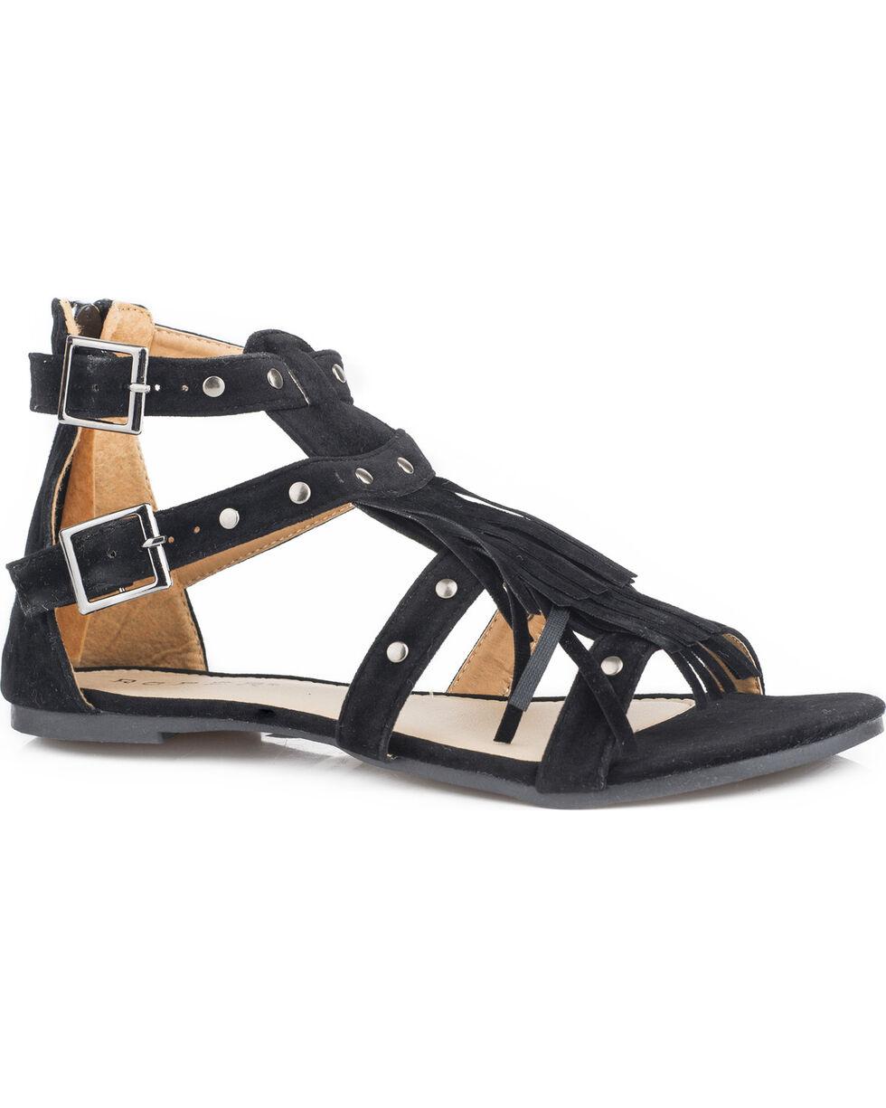 Roper Women's Black Maya Sandals , Black, hi-res