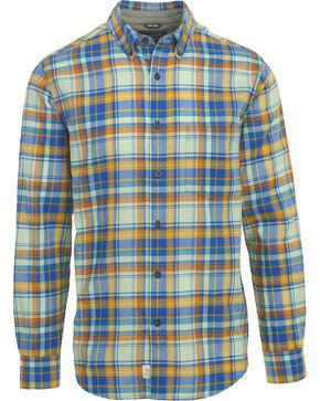 Woolrich Men's Oak Springs Eco Rich Plaid Shirt , Light/pastel Blue, hi-res