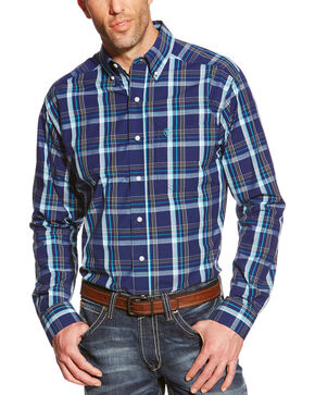 Ariat Men's Plaid Pro Series Walden Performance Shirt, Multi, hi-res