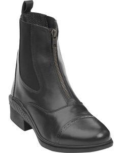 Ovation Women's Aeros Show Zip Paddock Boots, , hi-res