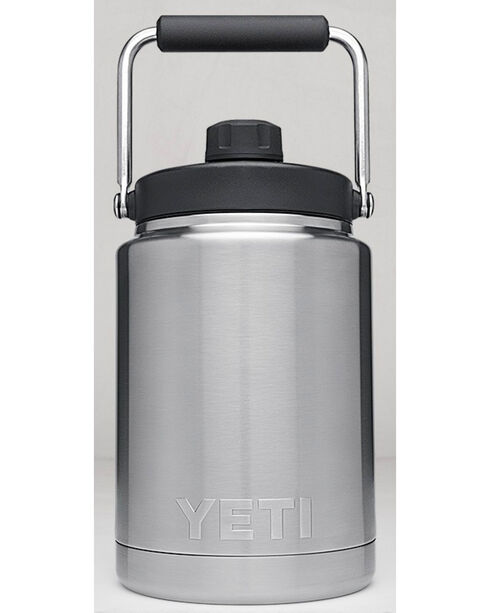 Yeti Steel Half Gallon Jug Rambler , Steel, hi-res