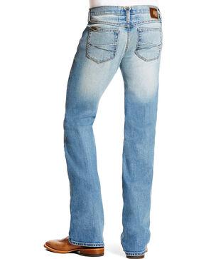Ariat Men's Indigo Men's M7 Trace Shasta Wash Jeans - Boot Cut , Indigo, hi-res