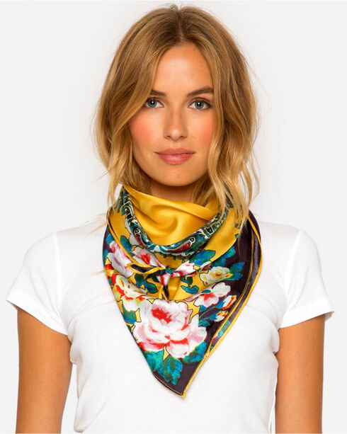 Johnny Was Women's Anjali Scarf, Multi, hi-res
