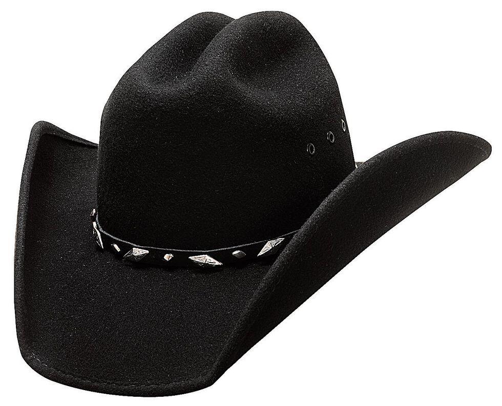 Bullhide Men's Guns Wool Hat, Black, hi-res