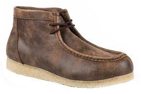 Roper Men's Gum Sole Chukka Shoes, Tan, hi-res
