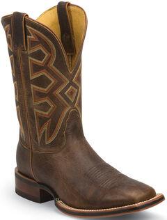 Nocona Tan Frida Let's Rodeo Cowboy Boots - Square Toe , , hi-res