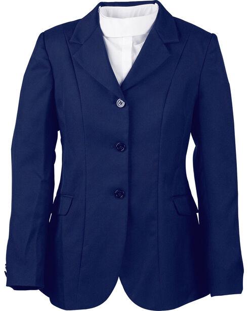 Dublin Bristol Soft Shell Equestrian Show Coat, Navy, hi-res