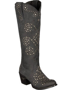 Lane Glam Cowgirl Boots - Round Toe, , hi-res