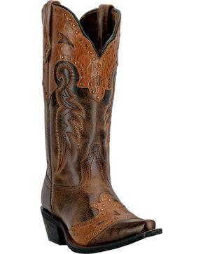 Laredo Ramona Cowgirl Boots - Snip Toe, Distressed, hi-res