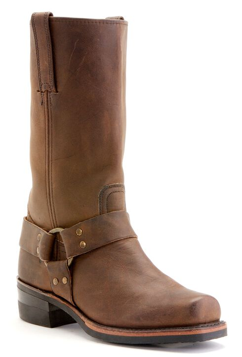 Frye Men's Harness 12R Boots - Square Toe, Gaucho, hi-res