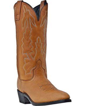 Laredo Jacksonville Cowboy Boots - Round Toe, Walnut, hi-res