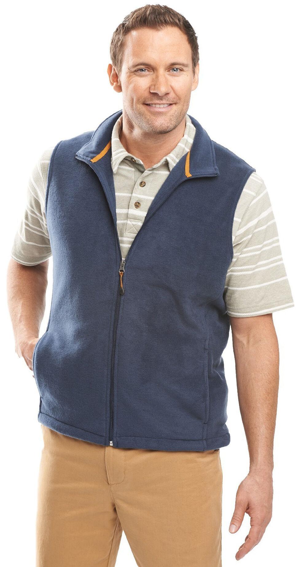 Woolrich Men's Andes II Fleece Vest, Indigo, hi-res