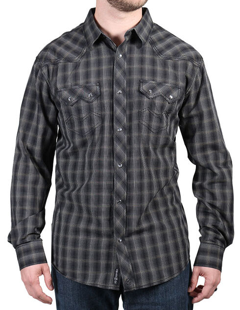 Moonshine Spirit Men's Unforgiven Long Sleeve Shirt, Black, hi-res