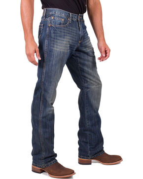 Cody James Men's Relaxed Fit Jeans - Boot Cut, Blue, hi-res