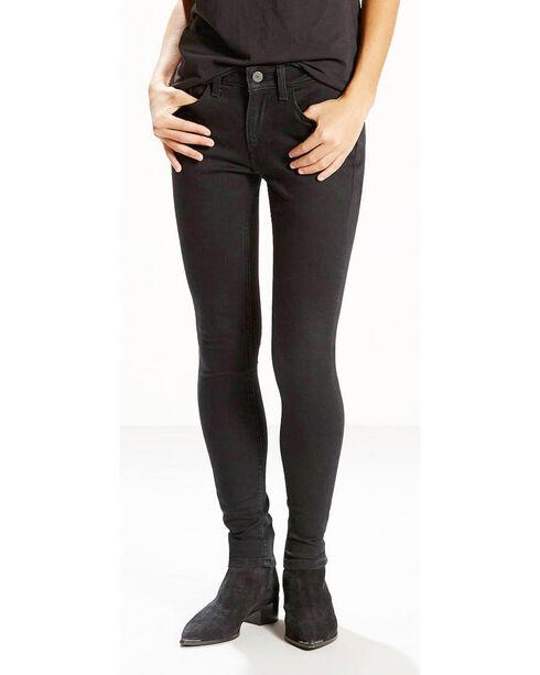 Levi's Women's Soft Black 535 Super Skinny Jeans , Black, hi-res