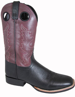Smoky Mountain Men's Marshall Cowboy Boots - Square Toe, , hi-res