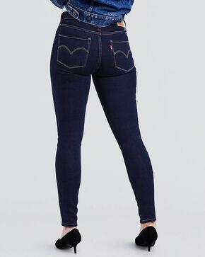 Levi's Women's Indigo 721 High Rise Jeans - Skinny , Indigo, hi-res