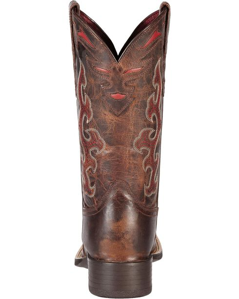 Ariat Sidekick Cowgirl Boots - Square Toe, Brown, hi-res