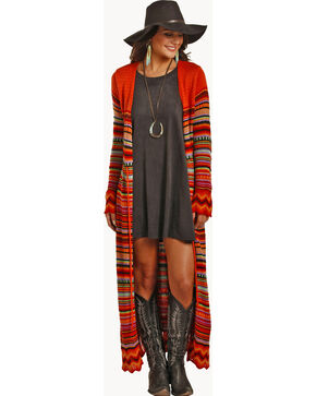 Powder River Outfitters Women's Serape Cardigan, Multi, hi-res