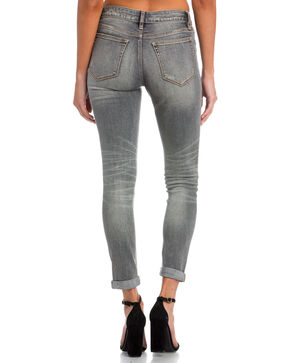 Miss Me Women's Grey No Shade Mid-Rise Jeans - Ankle Skinny , Grey, hi-res
