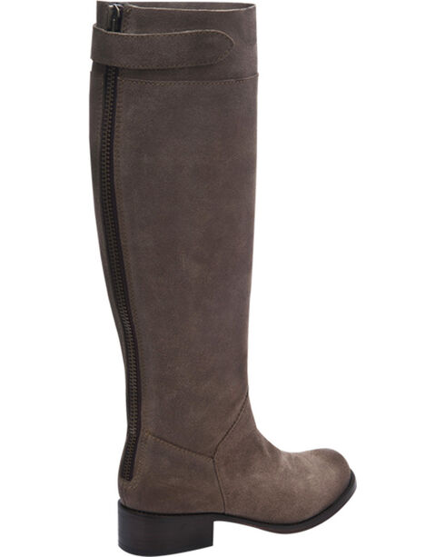 Corral Women's Suede Tall Riding Boots, Taupe, hi-res