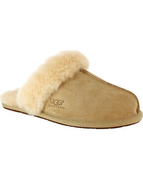 UGG Women's Sand Scuffette II Slippers , Sand, hi-res