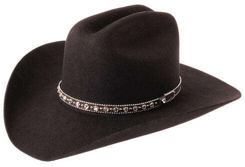 Silverado Fancy Cattleman Wool Felt Cowboy Hat, , hi-res