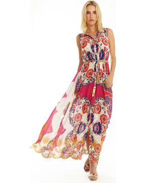 Aratta Women's Love Of My Life Dress, Fuscia, hi-res