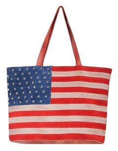 Scully Patriotic Suede Shoulder Bag, , hi-res