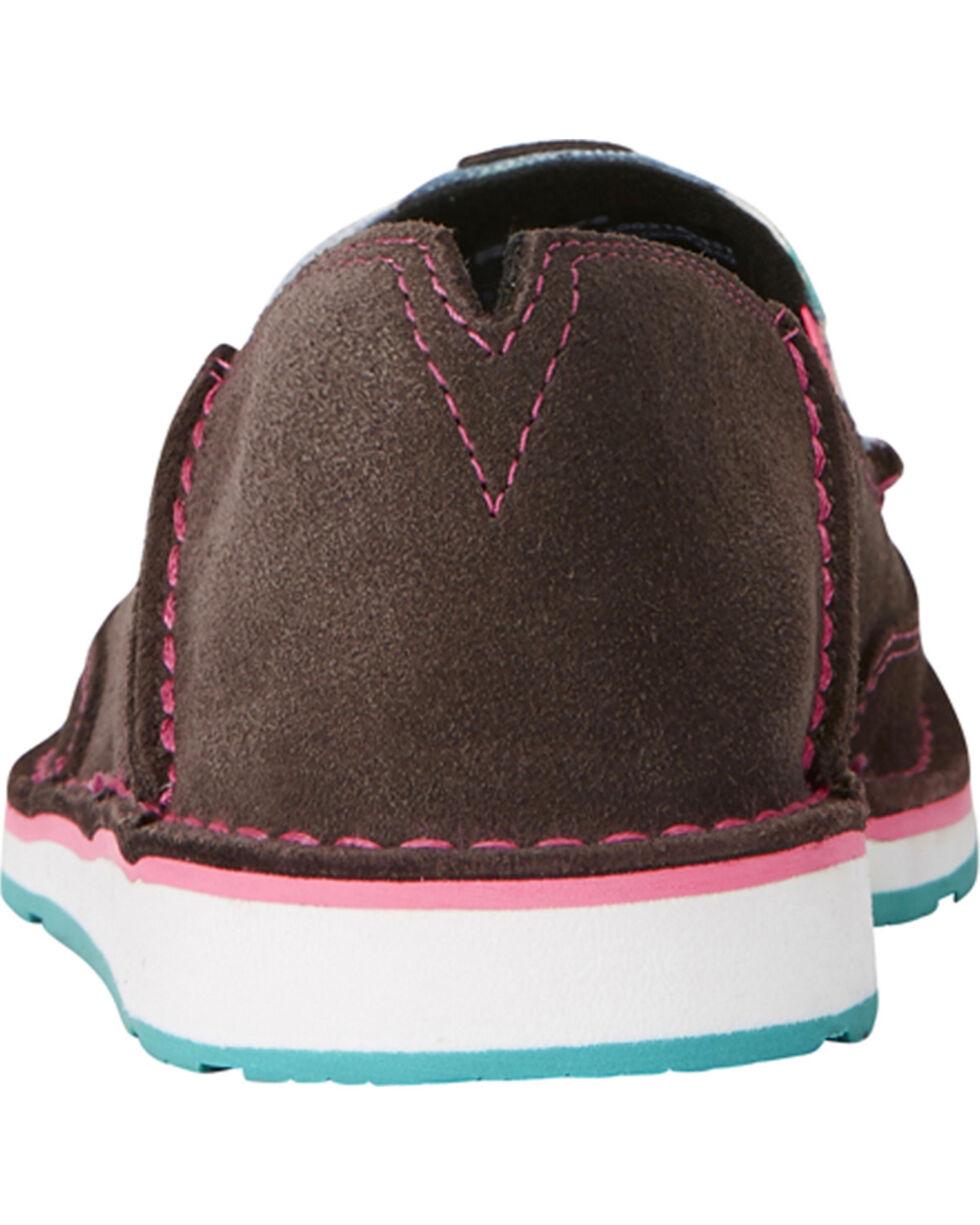 Ariat Women's Sky Camo Print Cruiser Shoes- Moc Toe, Brown, hi-res