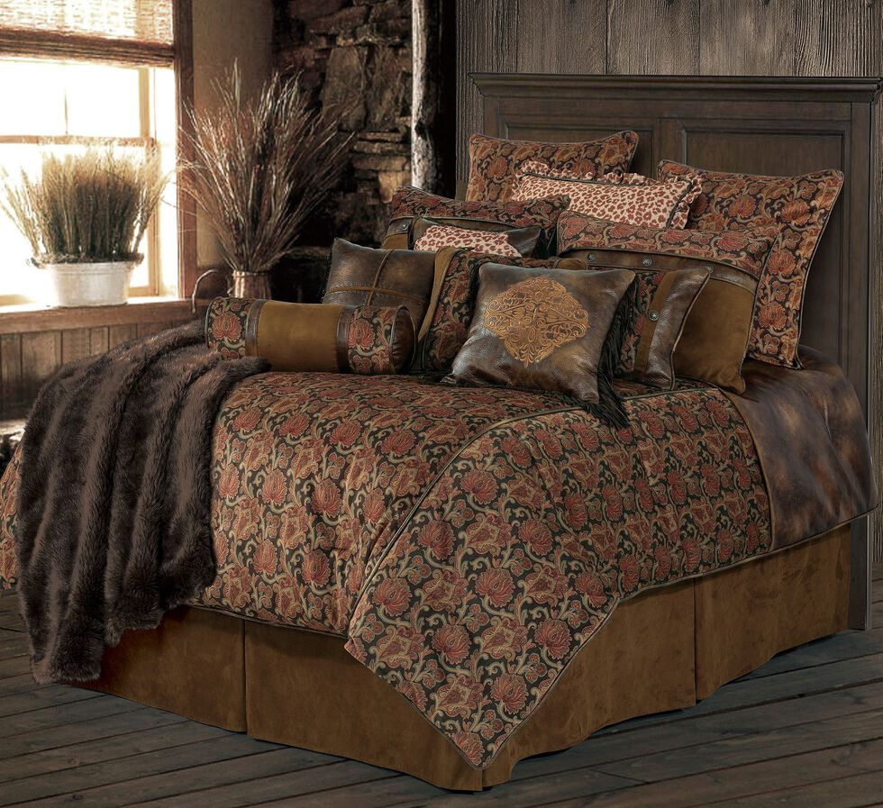 HiEnd Accents Austin Bed Set - Full Size, Multi, hi-res