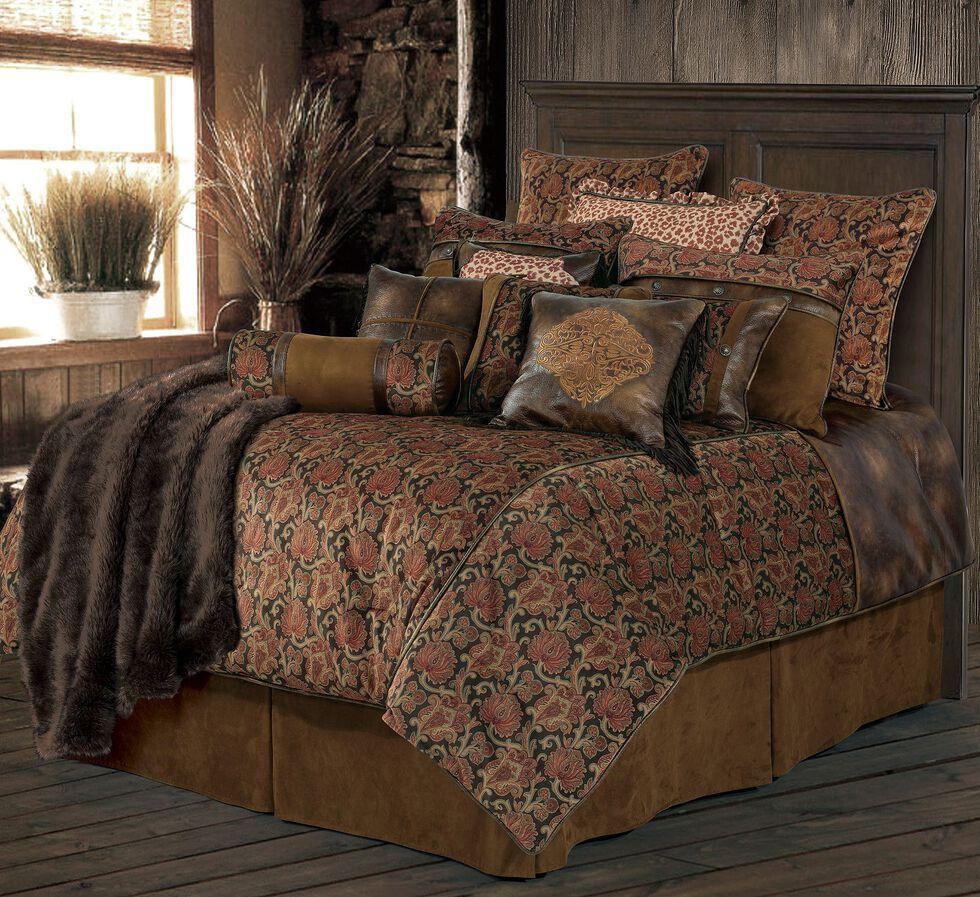 HiEnd Accents Austin Bed Set - King Size, Multi, hi-res