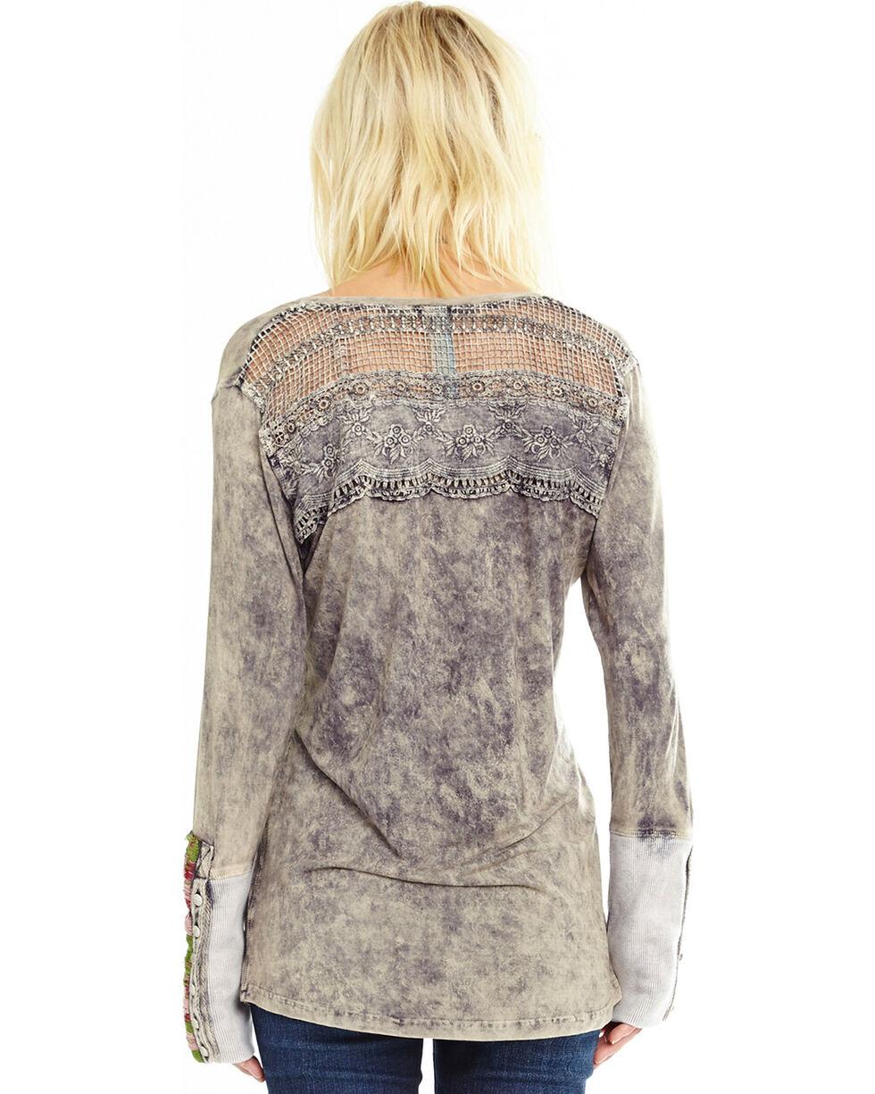 Aratta Women's Black Dreamer Long Sleeve Top , Black, hi-res